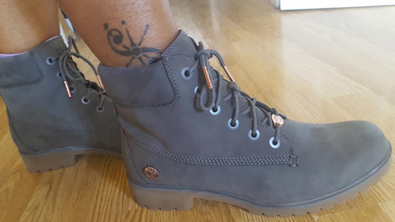 1ae69739f7e4 Timberland Slim Premium 6 Inch Boots Eiffel Tower Grey Nubuck ...