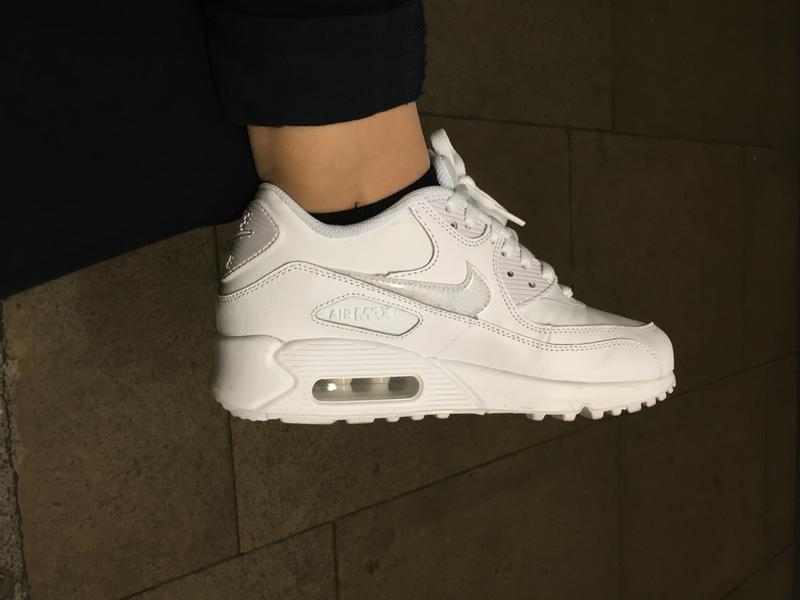 buy popular 59a41 e9189 My new shoes. Originally posted on Nike Air Max 90 Gs WHITE ...