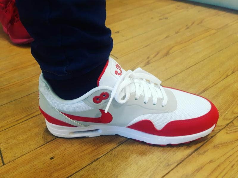 0d2fce8509 My new trainers. Originally posted on Nike Air Max 1 Ultra 2.0 UNI RED  WHITE OG LE