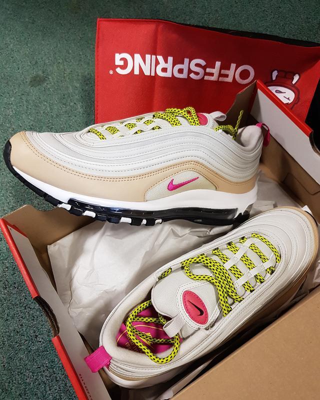 95fed7a5c2f My 97s. Originally posted on Nike Air Max 97 LIGHT BONE PINK MUSHROOM VOLT