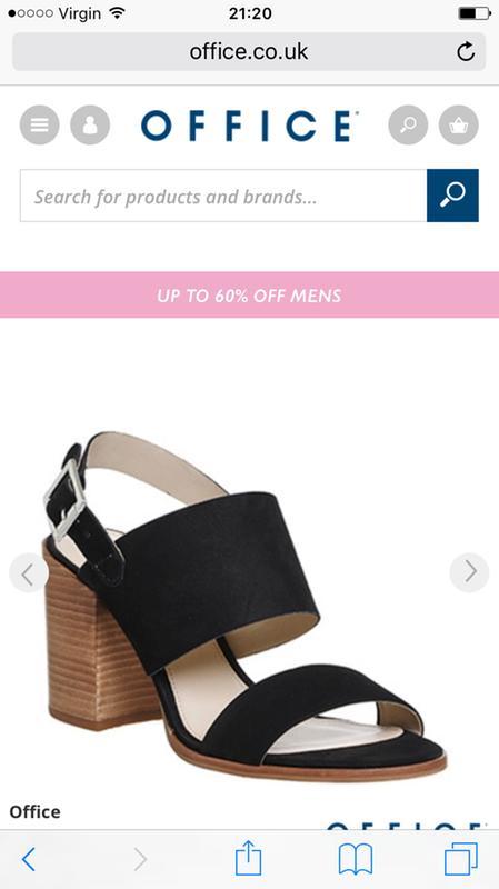 628d140beb1 Double buck sandal. Originally posted on Office Maddox Two Part Block Heel  BLACK NUBUCK