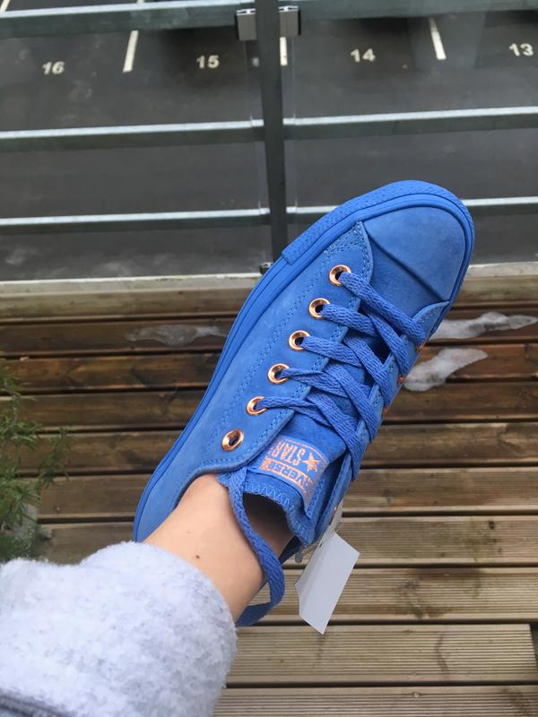 8ad133b6c94b Review photo 1. Originally posted on Converse Allstar Low Lthr PIONEER BLUE  MONO EXCLUSIVE