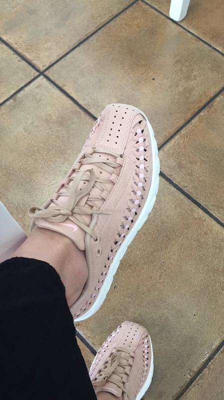 d3e298248fbd63 Review photo 1. Review photo 2 Photo This action will open a modal dialog.  Review photo 2. Originally posted on Nike Mayfly Woven VACHETTA TAN ARTIC  PINK ...