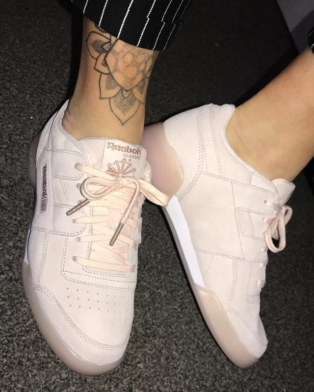 Review photo 2. Originally posted on Reebok Workout Plus PALE PINK ROSE  GOLD EXCLUSIVE d13e1c36d