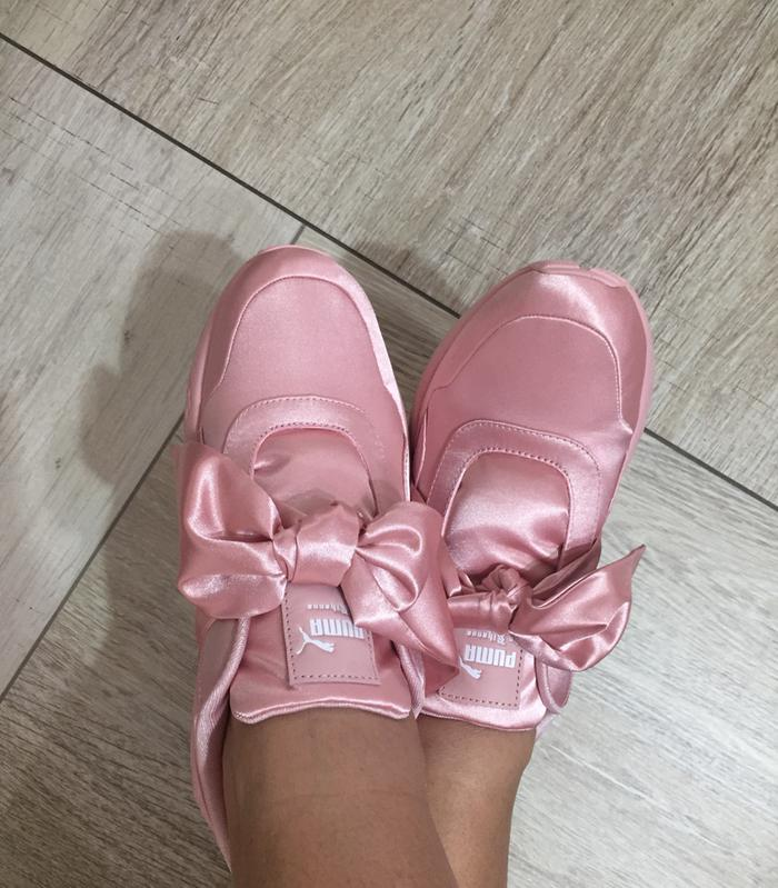 8ccb62b0986f9b Pink fenty. Originally posted on Puma R698 PINK SATIN FENTY