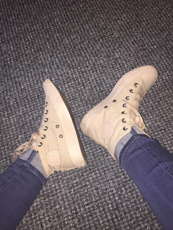purchase cheap 20bdc 475ce Review photo 1. Originally posted on Converse All Star Hi TAN SAND MONO