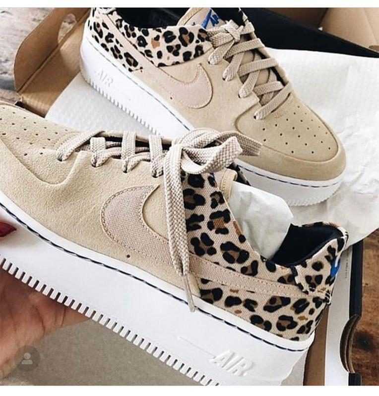 half off df9ed f3750 My new Nikes. Originally posted on Nike Air Force 1 Sage DESERT ORE WHEAT  LEOPARD