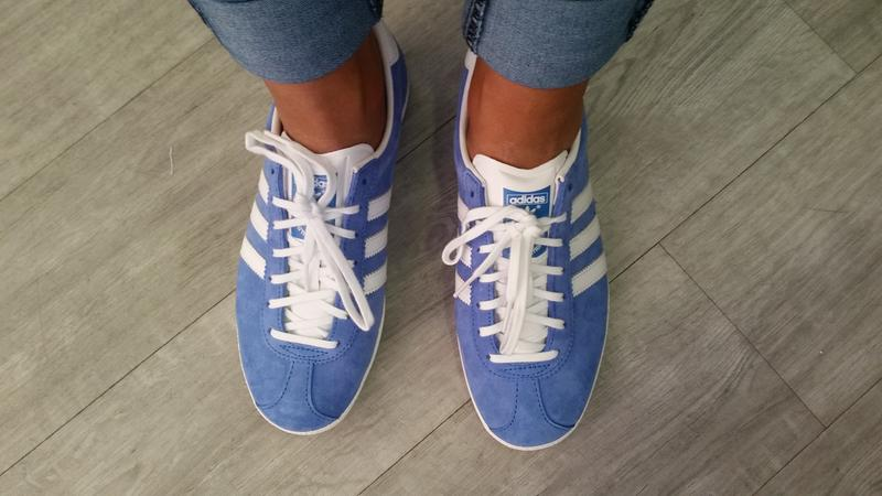 My new Sneaks. Originally posted on Adidas Gazelle Og AIR FORCE BLUE WHITE fed97acbe