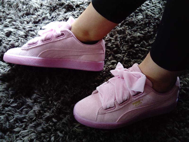 bbd82b63d114 Love my new trainers. Originally posted on Puma Suede Heart ...