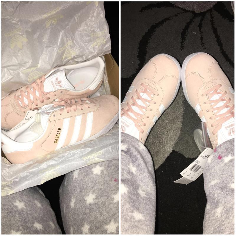 save off 1bbc6 d4ad6 My new beauty s. Originally posted on Adidas Gazelle VAPOUR PINK WHITE