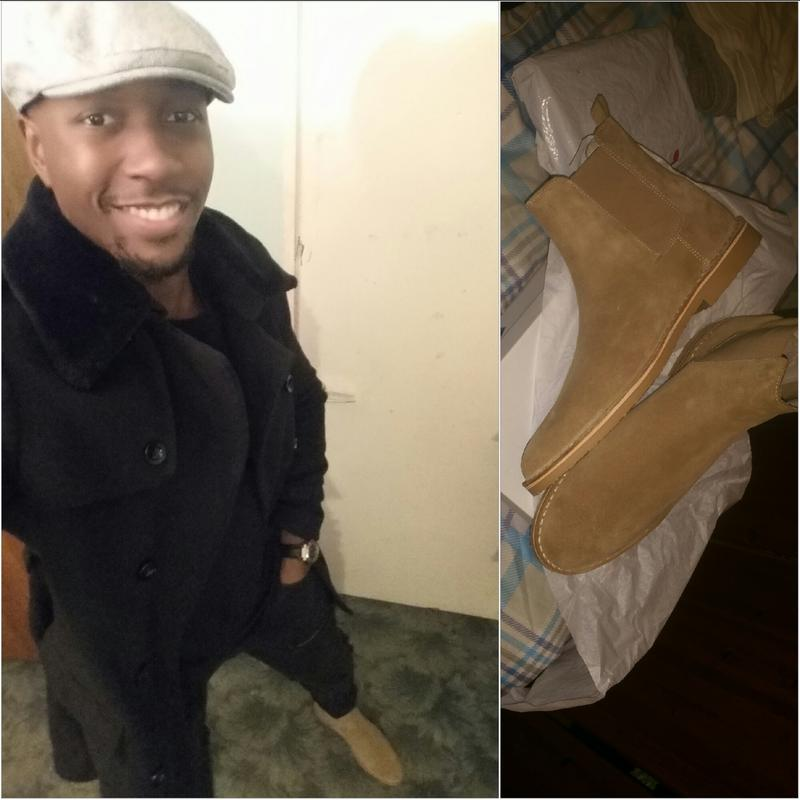 Ask The Missus Danish Chelsea Boots Beige Suede
