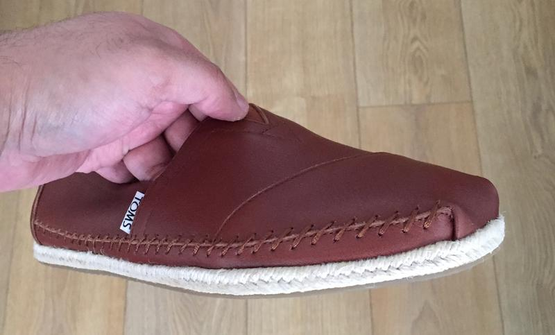 a49807b22fd Toms Classic Slip Ons Brown Leather - Casual