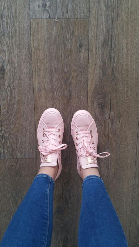 76472671a994 Amazing love them. Wow Photo This action will open a modal dialog. Wow. Converse  All Star Low Leather Dusk Pink ...