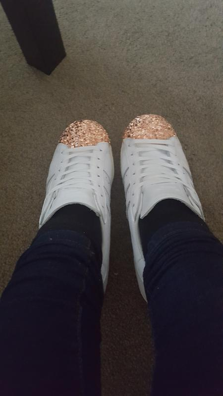 Amazeballs. Originally posted on Adidas Superstar 80 s Metal Toe W WHITE  SHATTERED MIRROR GOLD 3D 939ad7efbed7