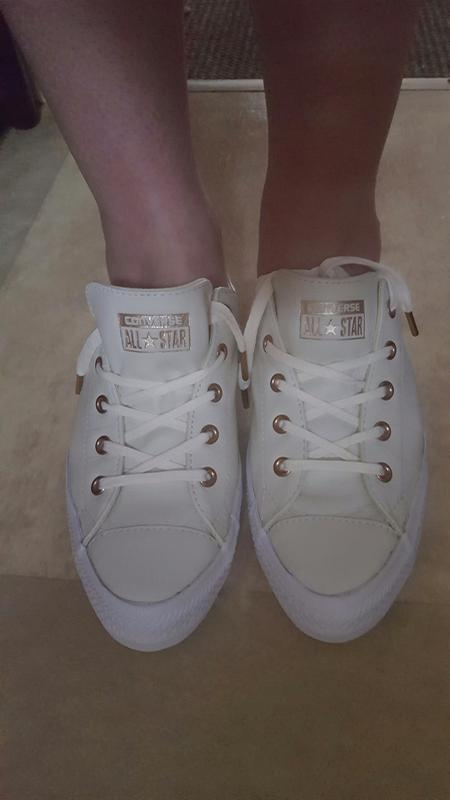 48169b07dc9b76 Review photo 1. Originally posted on Converse Ctas Gemma Low Leather EGRET  ...