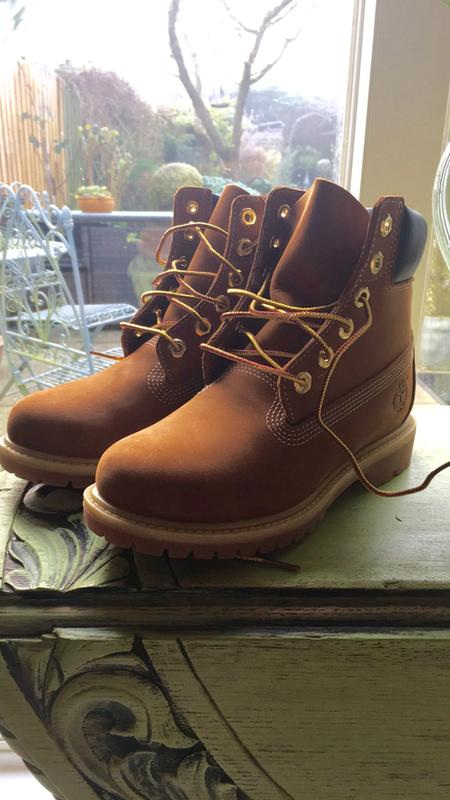 Timberland Premium 6 Boots Rust Nubuck - Ankle Boots 7facfa848