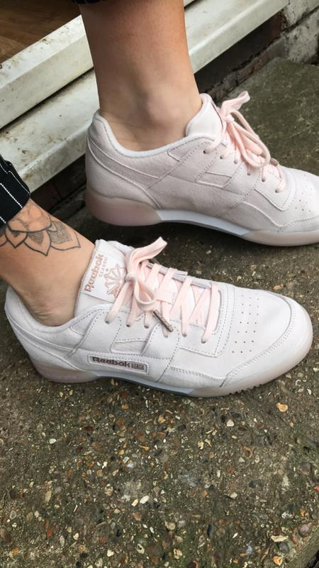 Review photo 1. Review photo 2 Photo This action will open a modal dialog.  Review photo 2. Originally posted on Reebok Workout Plus PALE PINK ROSE GOLD  ... a85dd46cb