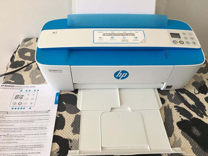 HP DeskJet Wireless Inkjet MFC Printer 3720