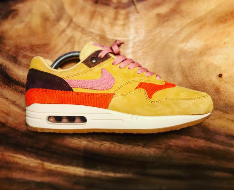 a0cadb0ce8 Review photo 1. Originally posted on Nike Air Max 1 WHEAT GOLD PINK CREPE  SOLE