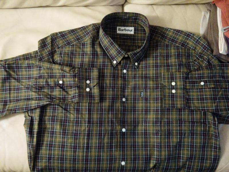 8fa92332799 Men's Barbour Tartan 2 Tailored Shirt