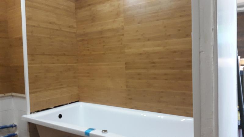 revêtement de sol massif bamboo, bambou verni - sols & murs - Parquet Bambou Salle De Bain