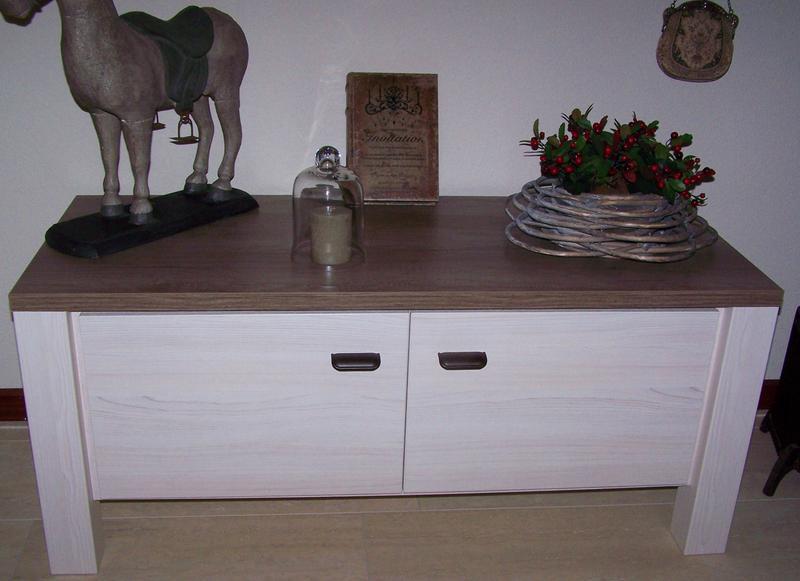 Tv meubel lynn grijze eikenkleur 52x119 5x50 cm