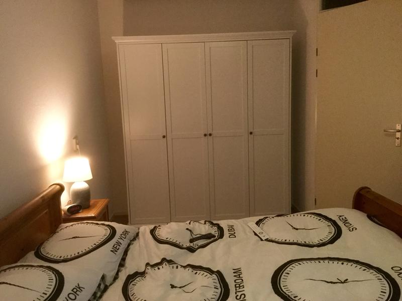 Kledingkast Fleur 4-deurs - wit - 201x181x61 cm