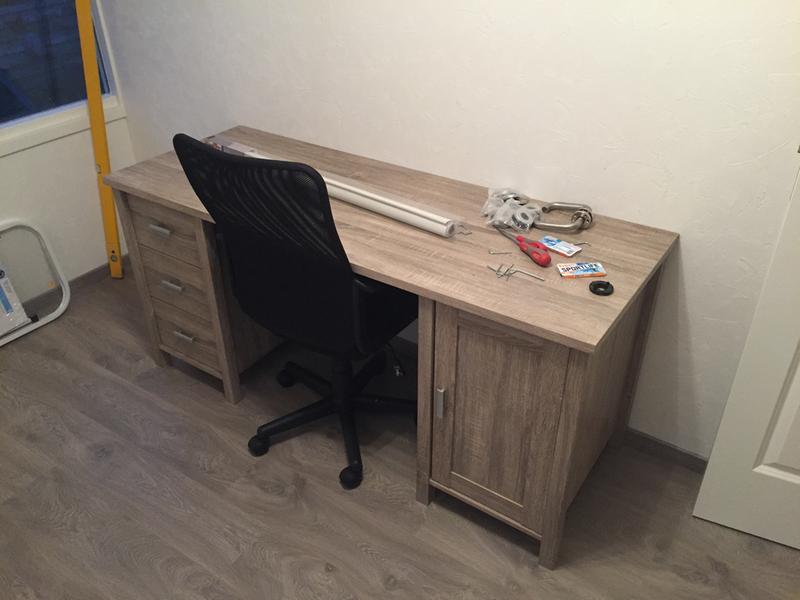 Computer bureau leenbakker bureau en lego bureau blanc pieds