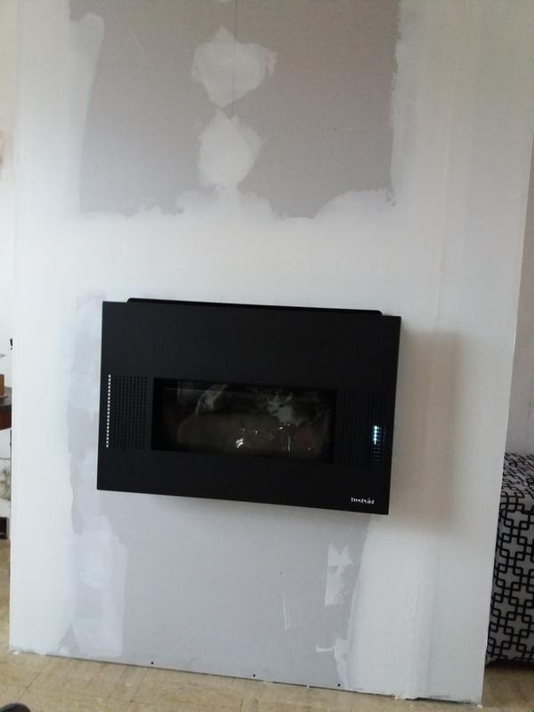 insert granul s autonome freepoint comfort 80 8 kw leroy merlin. Black Bedroom Furniture Sets. Home Design Ideas