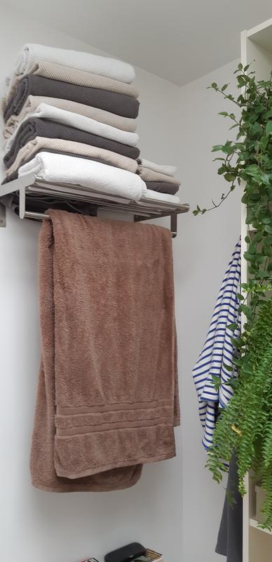 Porte serviettes acier 1 barre fixe loft leroy merlin - Leroy merlin perigueux ...