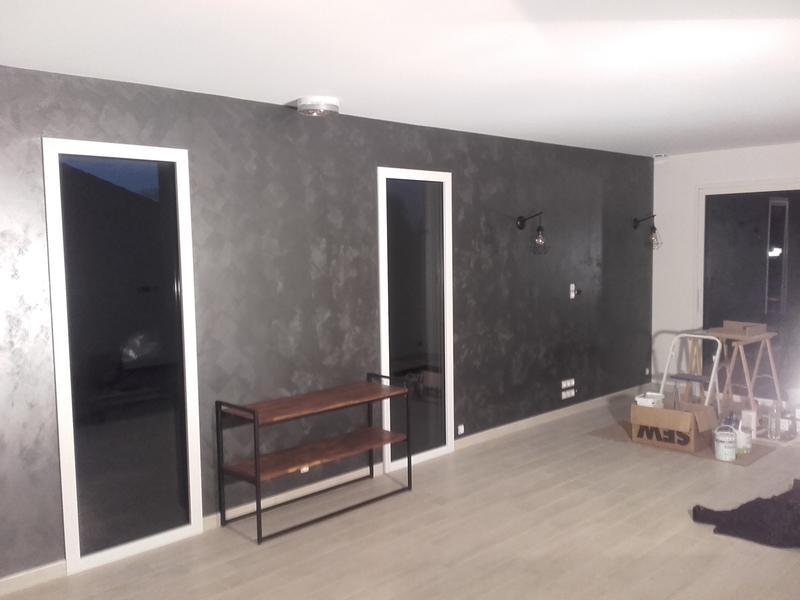 peinture effet pur m tal id nickel 2 l leroy merlin. Black Bedroom Furniture Sets. Home Design Ideas