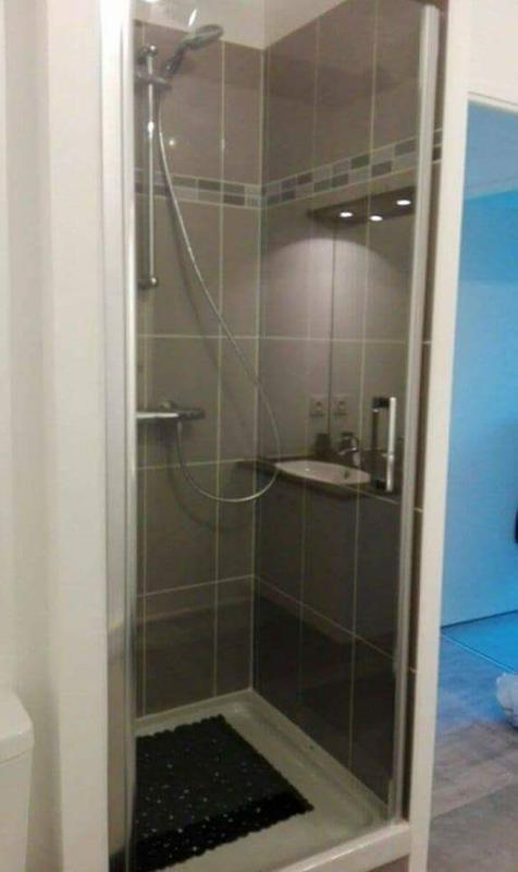 Porte de douche pivotante 80 cm, transparent, Remix | Leroy Merlin