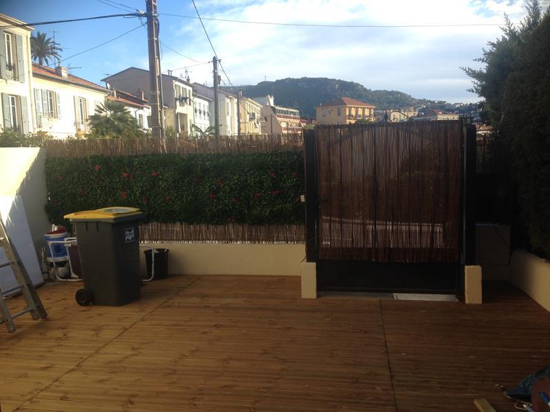 Lambourde pour terrasse bois résineux Pin, L.2.4 m x l.7 cm x Ep ...