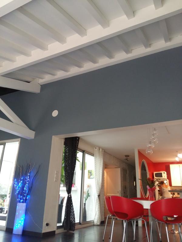 peinture blanche mur plafond et boiserie resist 39 extr me v33 satin 10 l leroy merlin. Black Bedroom Furniture Sets. Home Design Ideas
