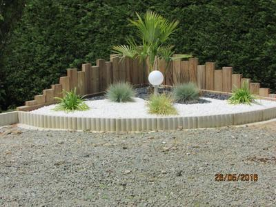Bordure droite biface b ton ton pierre x cm leroy merlin - Film plastique pour dalle beton ...