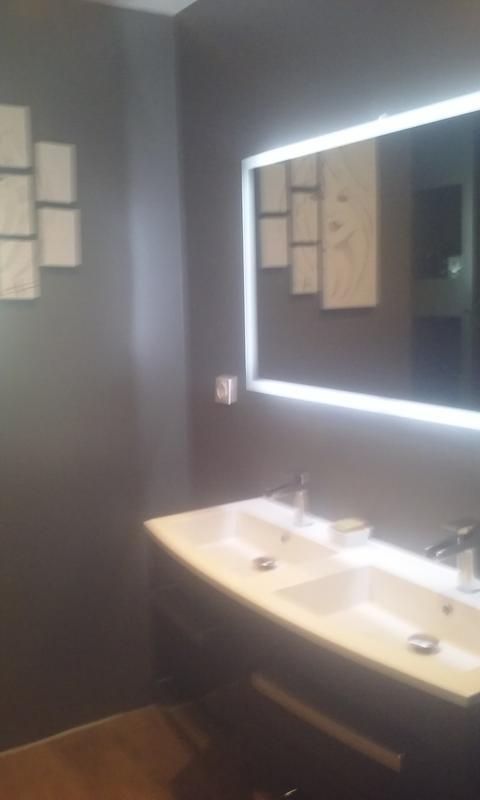 Miroir lumineux avec éclairage intégré, l.120 x H.70 cm Opale