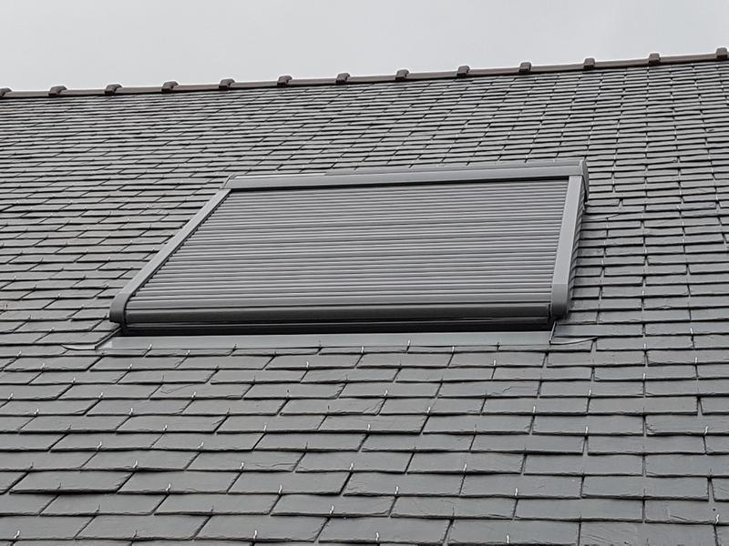 Volet Fenêtre De Toit Roulant à énergie Solaire Velux Ssl Sk06