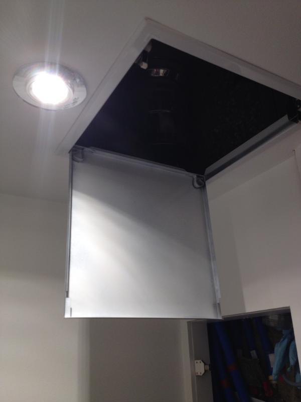trappe de visite blanche laqu e semin 30 x 30 cm leroy merlin. Black Bedroom Furniture Sets. Home Design Ideas
