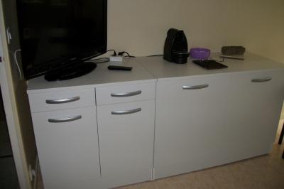 meuble de cuisine bas 2 portes, blanc, h86x l120x p60cm | leroy merlin