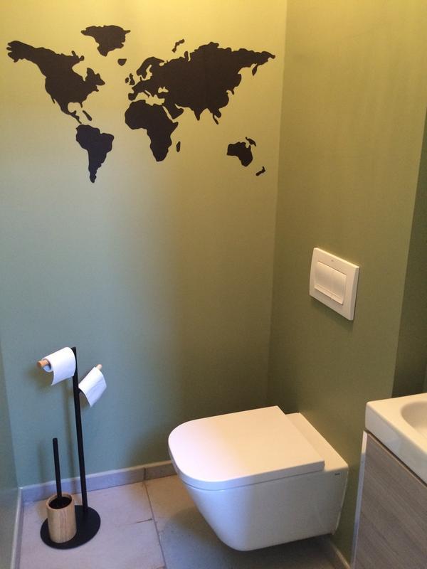 Stockeur d rouleur papier wc scandi noir leroy merlin - Derouleur papier wc leroy merlin ...
