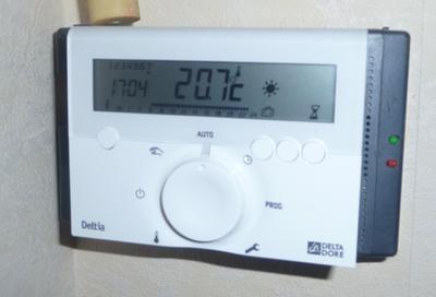 thermostat programmable filaire delta dore deltia. Black Bedroom Furniture Sets. Home Design Ideas