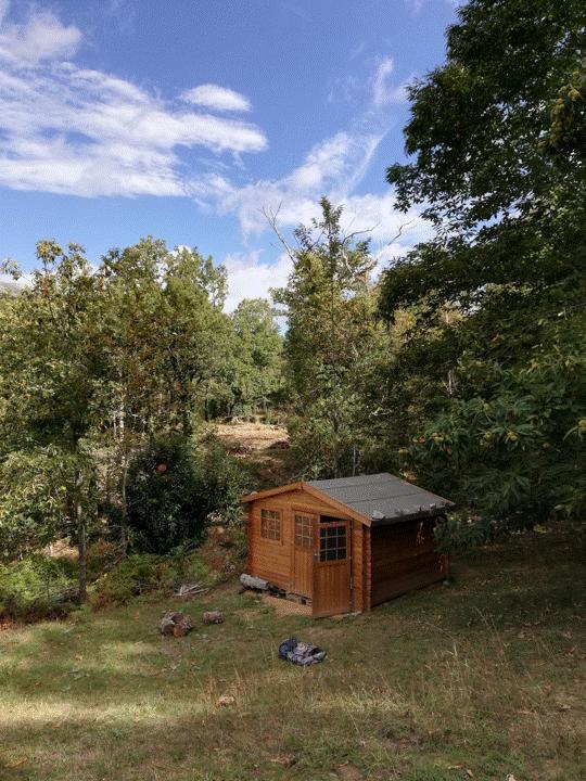 Abri De Jardin Bois Naterial Kerno Axess Traité Autoclave Ep28 Mm 905 M²