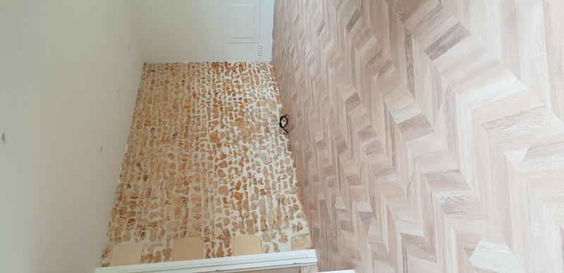 sol stratifi paya point de hongrie c t droit ep 8 mm artens leroy merlin. Black Bedroom Furniture Sets. Home Design Ideas