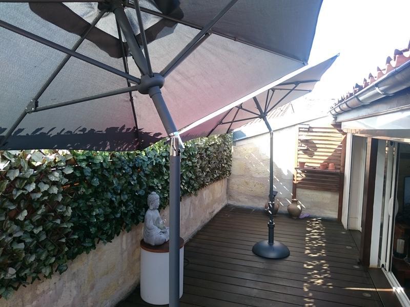 parasol droit tunis anthracite rectangulaire x cm leroy merlin. Black Bedroom Furniture Sets. Home Design Ideas
