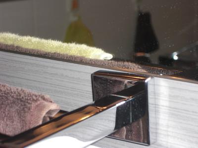 Porte serviettes acier 2 barres fixes quaddro leroy merlin - Porte serviette leroy merlin ...