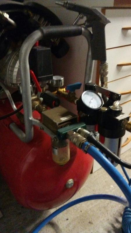 compresseur de chantier redstone 50 l 3 cv