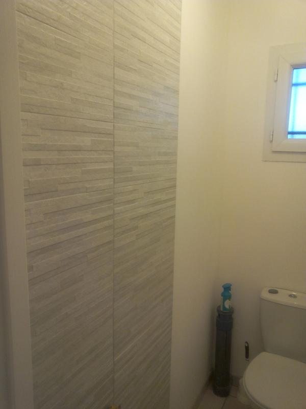 Fa ence mur gris d cor trevise x cm leroy merlin - Deposer du carrelage mural ...