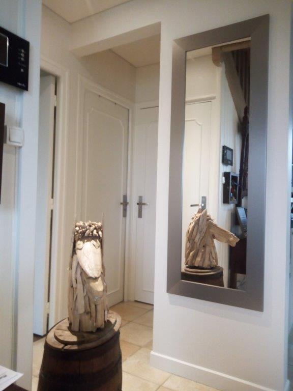 Miroir Rectangulaire Loft Graphite L87 X H187 Cm
