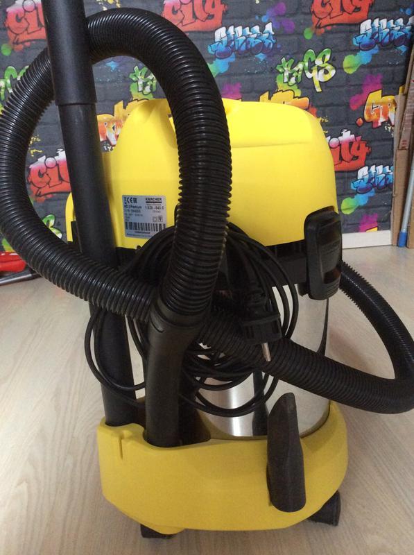 Aspirateur Eau Poussi Res Et Sciures Karcher Wd3 Premium