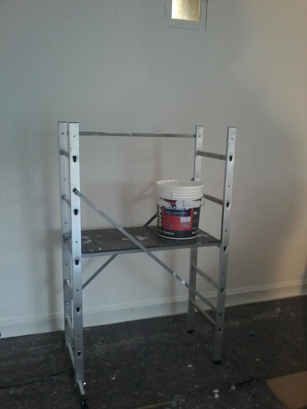 Echafaudage Aluminium Hobbystep H3 Hauteur De Travail 3 M